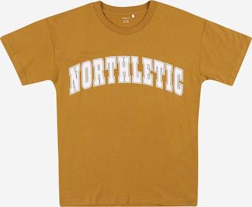 T-Shirt 'LEKII' NAME IT en marron