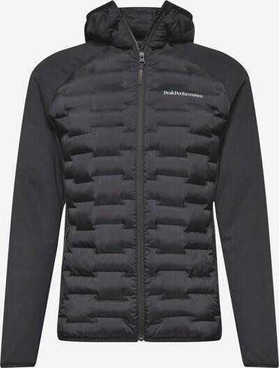 PEAK PERFORMANCE Toiminnallinen takki 'Argon' värissä musta, Tuotenäkymä
