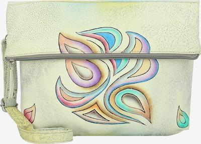 GREENLAND Umhängetasche 'Art & Craft ' in blau / pastellgelb / grün / lila, Produktansicht