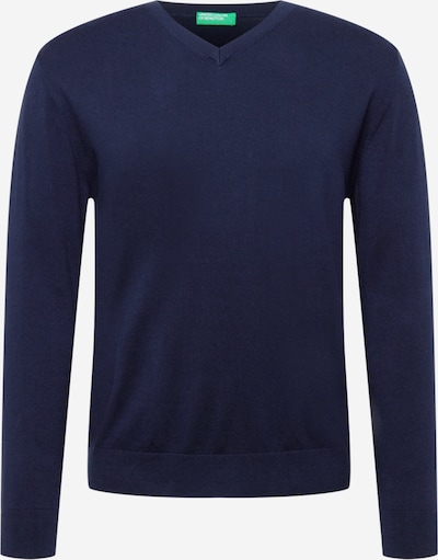 UNITED COLORS OF BENETTON Pullover in marine, Produktansicht