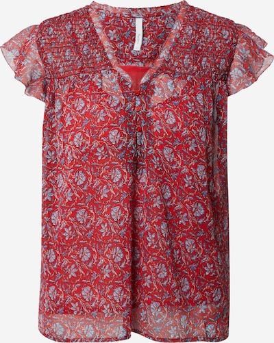 Pepe Jeans Bluse in blau / rot / weiß, Produktansicht