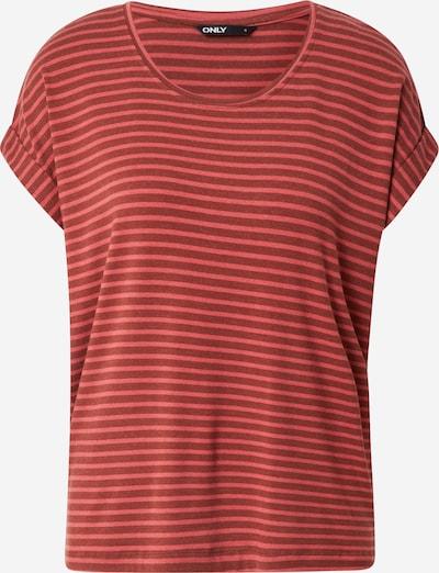 ONLY Shirt 'MOSTER' in bordeaux / pastellrot, Produktansicht