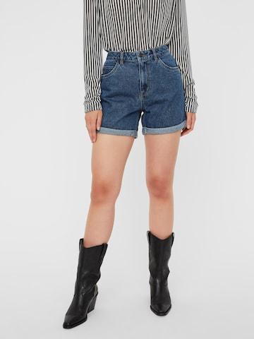VERO MODA Jeans 'NINETEEN' in Blauw