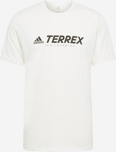 adidas Terrex Functioneel shirt in de kleur Zwart / Wit, Productweergave