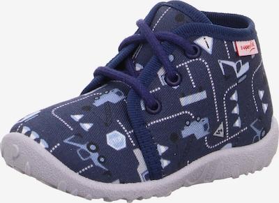 SUPERFIT Huisschoenen 'SPOTTY' in de kleur Navy / Lichtblauw, Productweergave