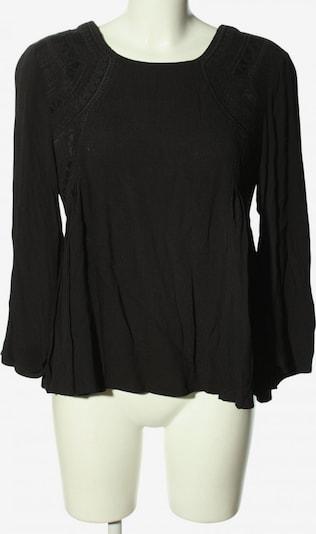 see U soon Langarm-Bluse in S in schwarz, Produktansicht