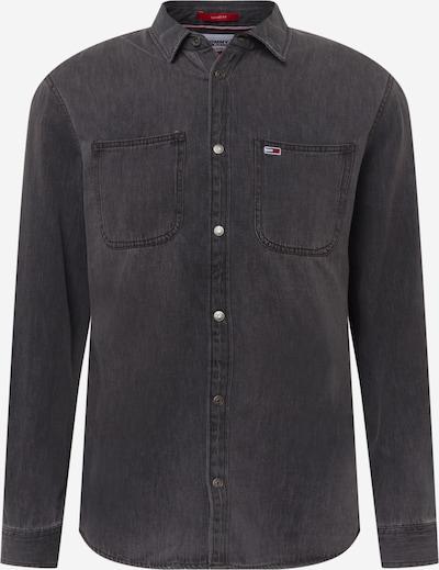 Tommy Jeans Hemd in black denim, Produktansicht