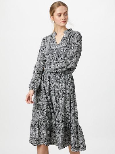SISTERS POINT Kleid 'VESSI' in schwarz / weiß, Modelansicht