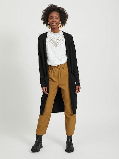 VILA Knit cardigan 'Ril' in black, View model