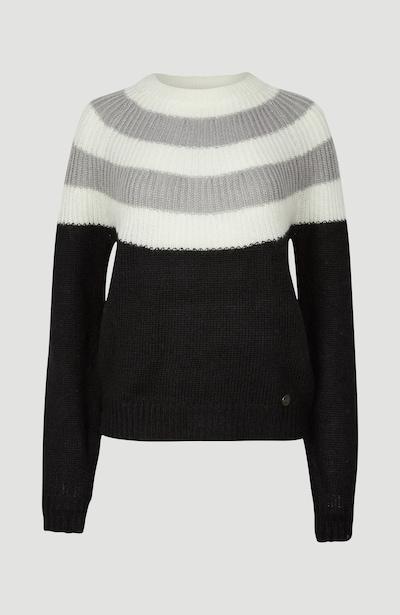 O'NEILL Trui 'Multicolor' in de kleur Crème / Grijs / Zwart, Productweergave