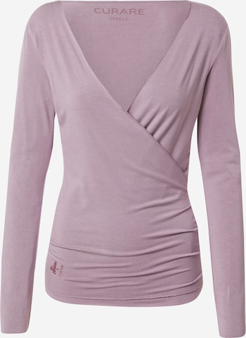 Veste de sport CURARE Yogawear en violet