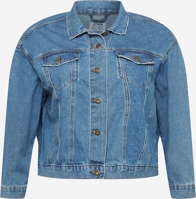 Cotton On Curve Jacke 'BAGGY' in blue denim, Produktansicht