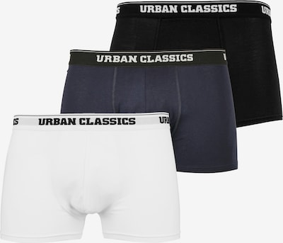 Urban Classics Big & Tall Boxerky - námornícka modrá / čierna / biela, Produkt