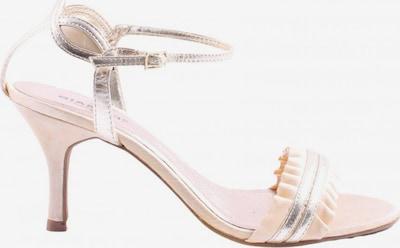 Bianco Riemchen-Sandaletten in 37 in silber / wollweiß, Produktansicht