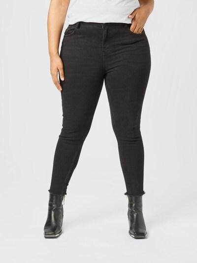 Guido Maria Kretschmer Curvy Collection Jeans 'Ines' in schwarz: Frontalansicht