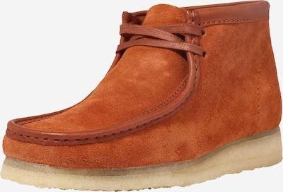 Clarks Originals Chukka Boots 'Wallabee' en cognac, Vue avec produit