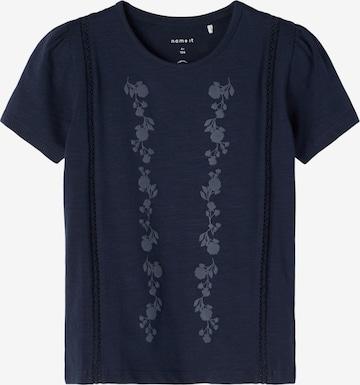 NAME IT T-Shirt 'Hedviig' in Blau