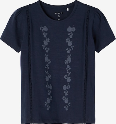 NAME IT T-Shirt 'Hedviig' in rauchblau / nachtblau, Produktansicht