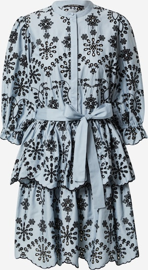 Rochie tip bluză 'Rosie Sinea' BRUUNS BAZAAR pe albastru deschis / negru, Vizualizare produs