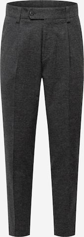 Pantaloni con piega frontale 'Perin' di BOSS in grigio