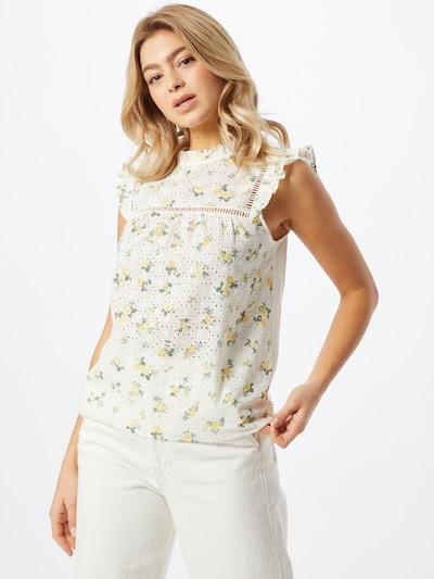 NEW LOOK Tunique 'Anna Rose' en blanc, Vue avec modèle