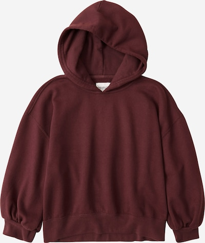 Abercrombie & Fitch Sweatshirt in bordeaux: Frontalansicht