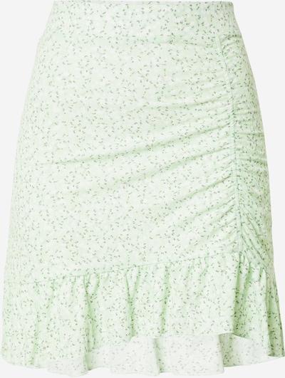 Gina Tricot Jupe 'Annie' en olive / menthe / blanc, Vue avec produit
