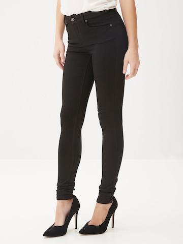 Jeans 'VMLUX' de la VERO MODA pe negru