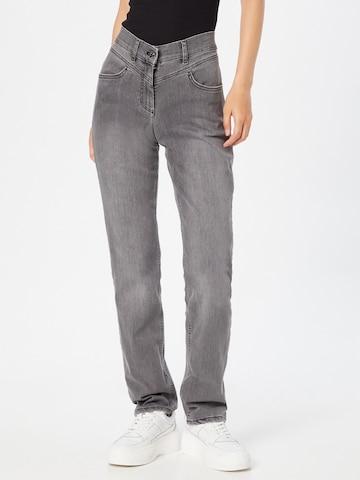 GERRY WEBER Jeans 'Best4me' in Grijs