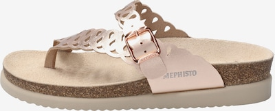 MEPHISTO Sandale 'HELENIA' in rosegold, Produktansicht