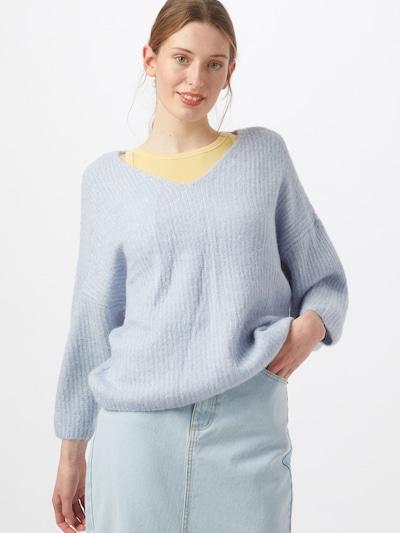 VERO MODA Pullover in hellblau, Modelansicht