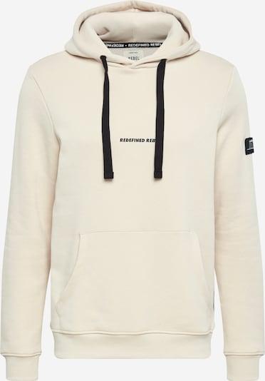 Redefined Rebel Sweatshirt 'Alfred' i sand / svart, Produktvy