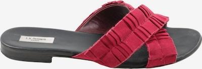 L.K.Bennett Strandsandalen in 40 in rot / schwarz, Produktansicht