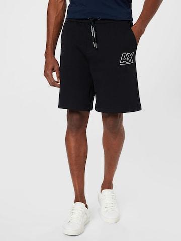 Pantaloni de la ARMANI EXCHANGE pe negru