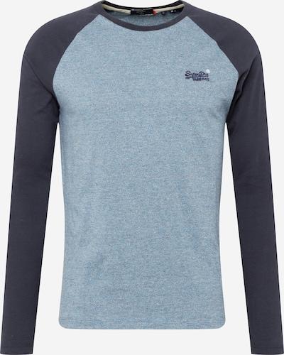 Superdry Shirt in navy / azur, Produktansicht