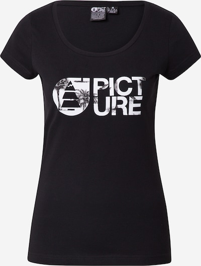 Picture Organic Clothing T-Shirt in schwarz / weiß, Produktansicht