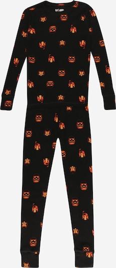 GAP Pijama en naranja / negro, Vista del producto