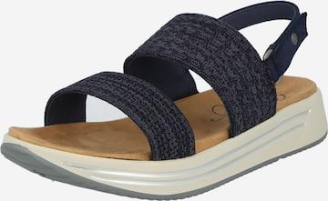MUSTANG Sandale in Blau
