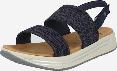 MUSTANG Sandales en bleu foncé, Vue avec produit