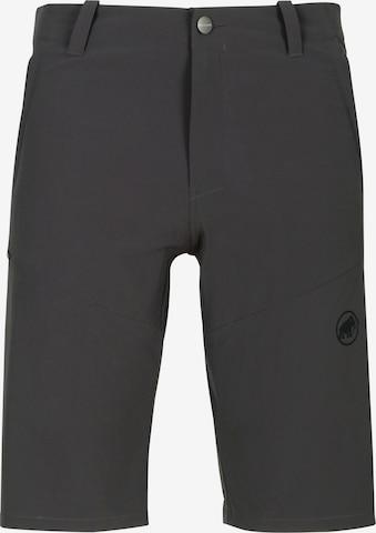 MAMMUT Outdoor Pants 'Runbold' in Grey