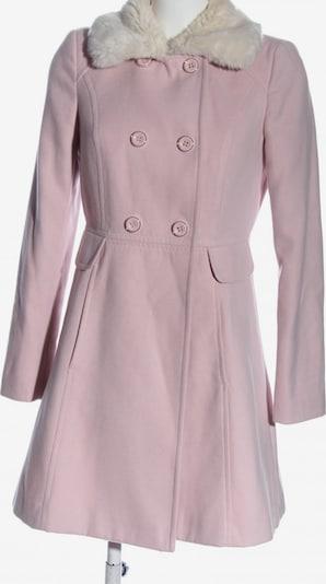 Miss Selfridge Kunstfellmantel in M in pink / weiß, Produktansicht