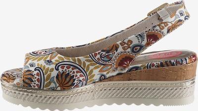 JANA Sandale in mischfarben, Produktansicht