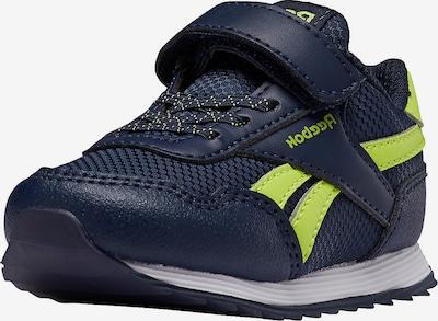 Reebok Classics Sneaker in navy / limette, Produktansicht