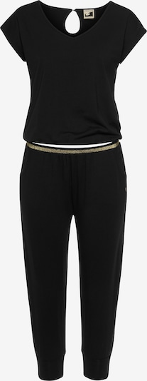 OCEAN SPORTSWEAR Jumpsuit in beige / gold / schwarz, Produktansicht