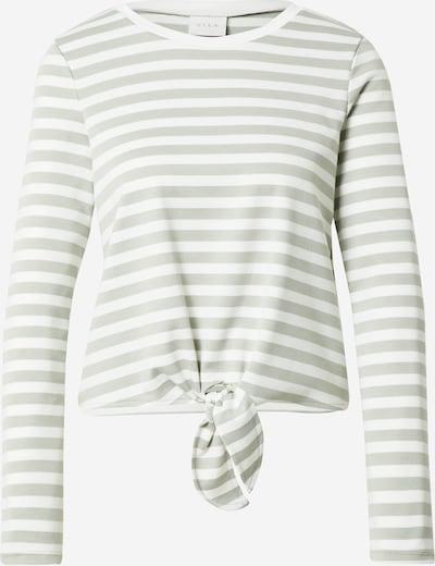 VILA Shirt 'TINNY' in Pastel green / White, Item view