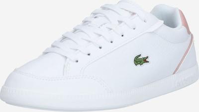 LACOSTE Nízke tenisky - svetloružová / biela, Produkt