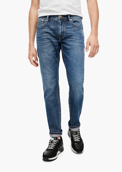 s.Oliver Jeans in blue denim: Frontalansicht