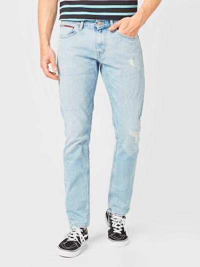 Tommy Jeans Jeans 'SCANTON' i blue denim, Modelvisning