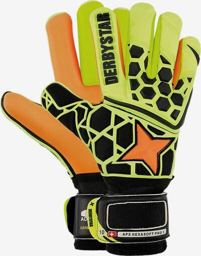 DERBYSTAR Handschuh in gelb, Produktansicht