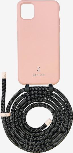 ZAPHYR Handyhülle mit Handykette 'iPhone 11 Pro' in rosa / schwarz, Produktansicht